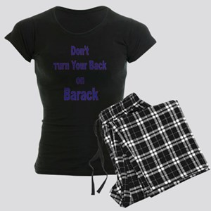 Back Women's Dark Pajamas