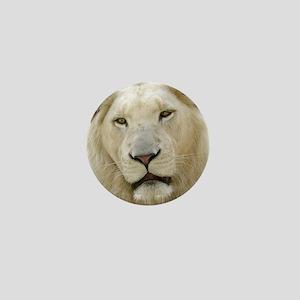 blonde lion note Mini Button
