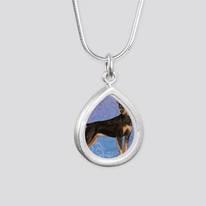 minpin-key1 back Silver Teardrop Necklace