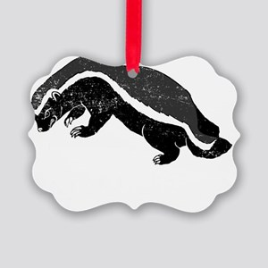 badgerWWHBD Picture Ornament