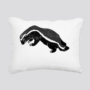 badgerWWHBD Rectangular Canvas Pillow
