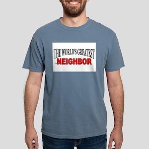 """The World's Greatest Neighbo Ash Grey T-Shirt"