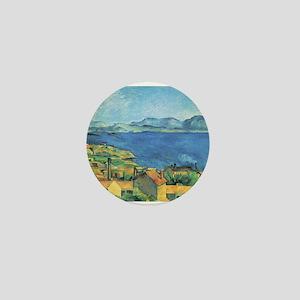 Bay of Marseille - Paul Cezanne - c1885 Mini Butto