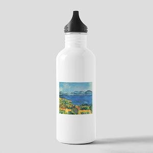 Bay of Marseille - Paul Cezanne - c1885 Water Bott