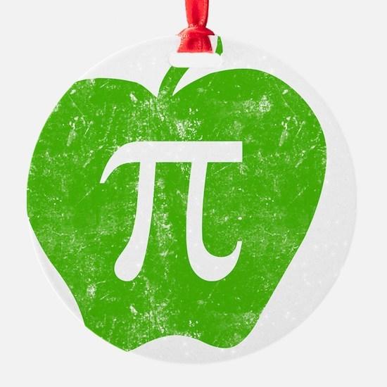 apple pie green bl Ornament