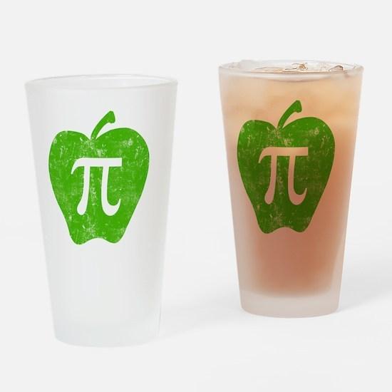 apple pie green bl Drinking Glass