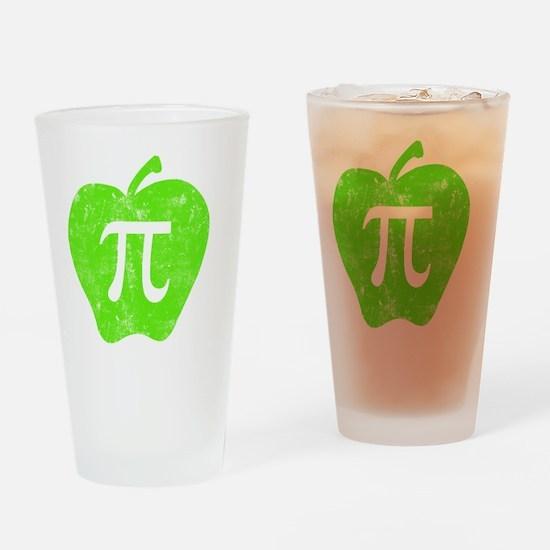 apple pie green Drinking Glass