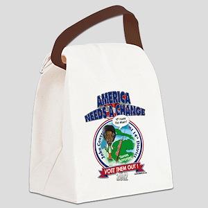 JohnConyersT Canvas Lunch Bag