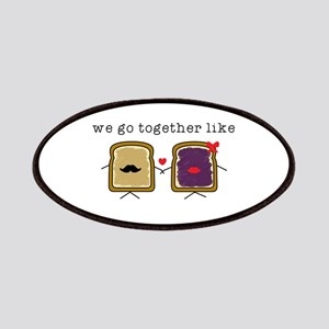 We go Together Like PB&J Patch