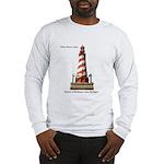 White Shoal Light Long Sleeve T-Shirt