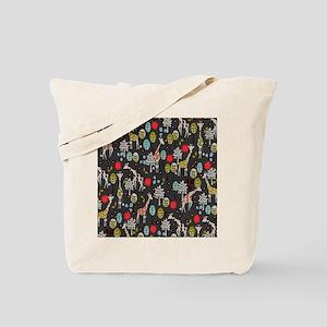 Giraffe Garden Tote Bag