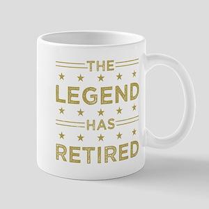 The Legend Has Retired Mugs