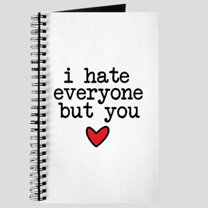 Hate Everyone Journal