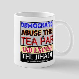 Democrats Abuse The Tea Party Mugs