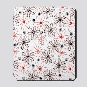 Going Dotty Daisies Mousepad