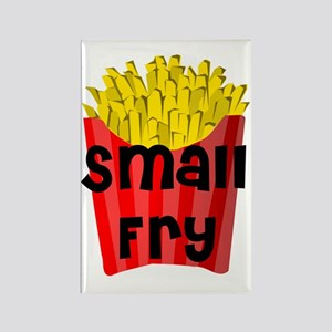 Small Fry.gif Rectangle Magnet