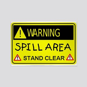 spill area.gif Rectangle Magnet