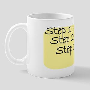 step golf Mug