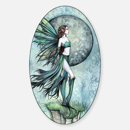 Fearless Fairy Sticker (Oval)