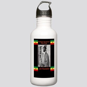 Haile-Selassie-Jah_Ras Stainless Water Bottle 1.0L