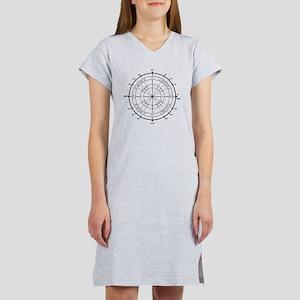 Unit-Circle-Transparent-2000x20 Women's Nightshirt