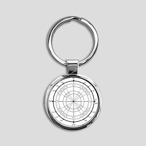 Unit-Circle-Transparent-2000x2000 Round Keychain