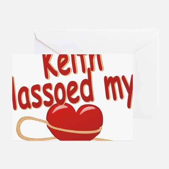 keith-b-lassoed Greeting Card