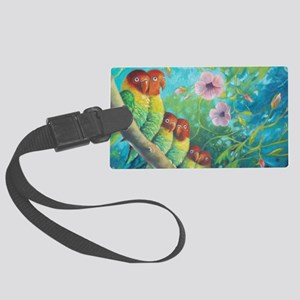 Lovebirds Large Luggage Tag