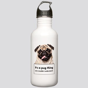 pugthing Stainless Water Bottle 1.0L