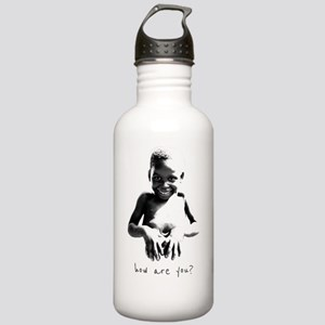 How Are You? Stainless Water Bottle 1.0L
