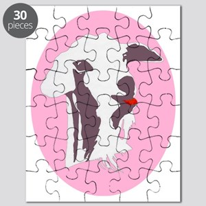 Buy a Goat Portrait in Grey Puzzle