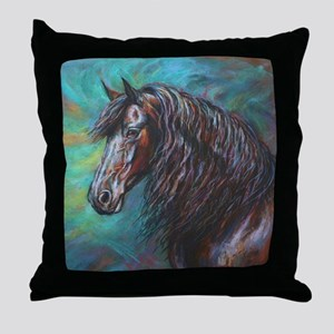 Zelvius painting by Janet Ferraro. Co Throw Pillow