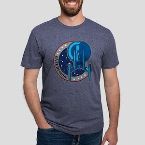 Enterprise Patch Men's Tri-Blend T-Shirt