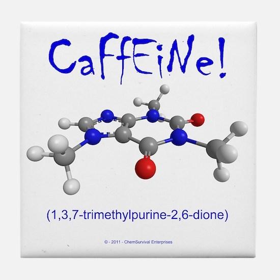 caffeine3 Tile Coaster