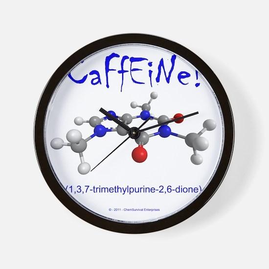 caffeine3 Wall Clock