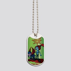 Wicked-Witch-Shirt Dog Tags