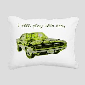 s_2 Rectangular Canvas Pillow