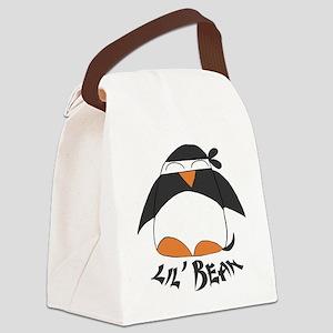 lilbeanlogo Canvas Lunch Bag