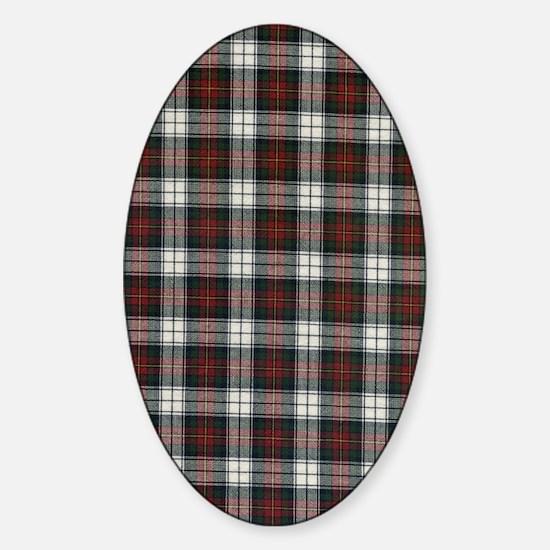 Flip Flop Flannel Sticker (Oval)