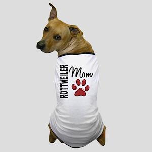 D Rottweiler Mom 2 Dog T-Shirt