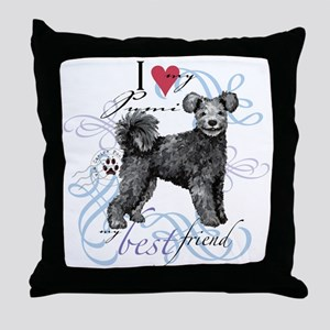 pumi T1 Throw Pillow