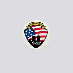 9-11 Mini Button