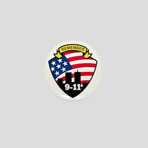 9-11 Mini Button