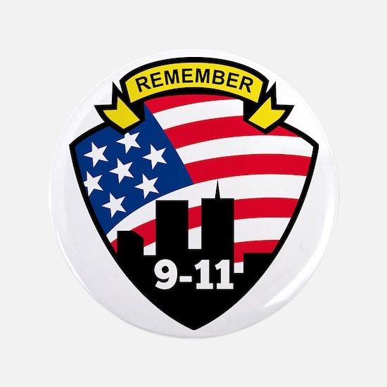 """9-11 3.5"""" Button"""