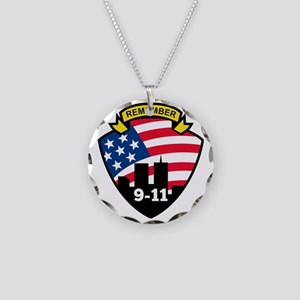 9-11 Necklace Circle Charm