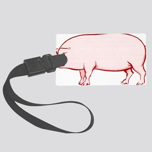 Piggy Large Luggage Tag