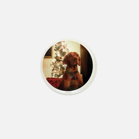 Ornament_Round_Henry_1 Mini Button