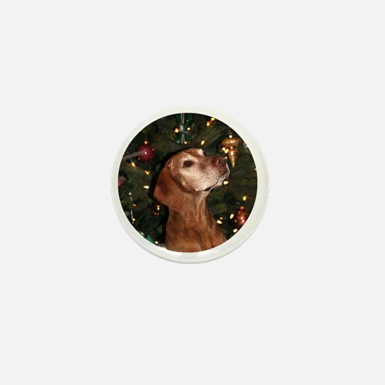 Ornament_Round_Paris_1 Mini Button
