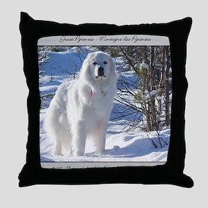 cub_12_11 Throw Pillow