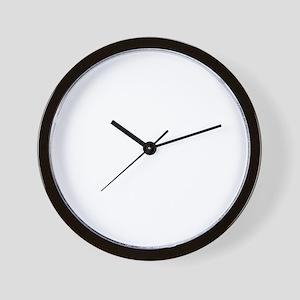 long face wh Wall Clock